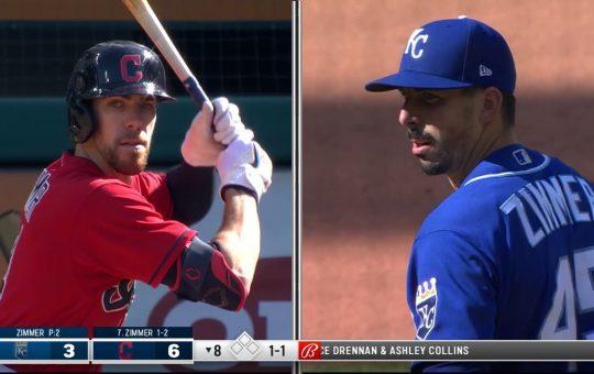Bradley y Kyle Zimmer en la historia de la MLB