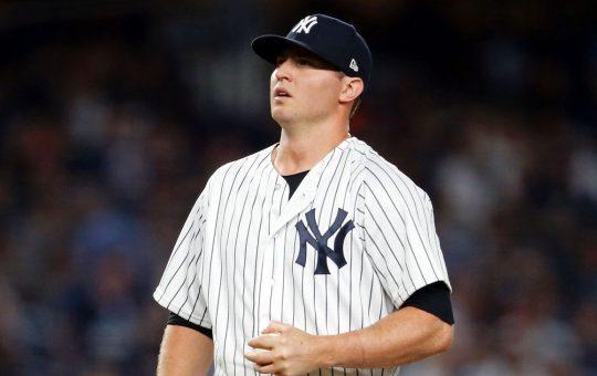 Zack Britton no tiene fecha de retorno con los Yankees por cirugía de Tommy John
