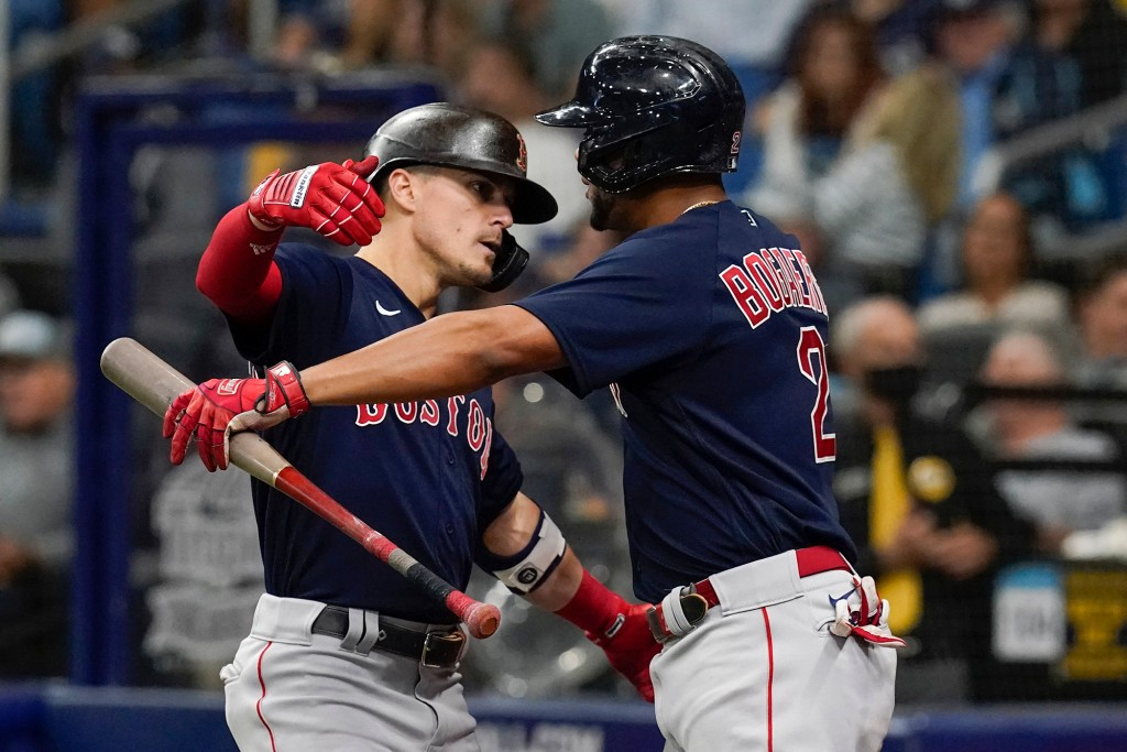 Rays y Red Sox - ALDS 2021.