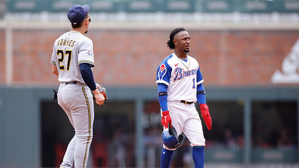Braves vs. Brewers: bateo ante pitcheo